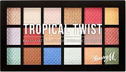 Parfums et Produits cosmétiques Palette de fards à paupières - Barry M Eyeshadow Palette Tropical Twist