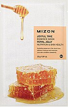 Parfums et Produits cosmétiques Masque tissu à la gelée royale pour visage - Mizon Joyful Time Essence Mask Royal Jelly