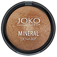 Poudre compacte minérale pour visage - Joko Mineral Powder