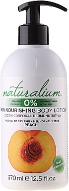 Lotion pour corps Pêche - Naturalium Body Lotion Peach — Photo N1