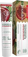 Parfums et Produits cosmétiques Dentifrice bio à l'extrait d'aloe vera et de sauge - Nordics Toothpaste Pomegranate