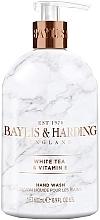Parfums et Produits cosmétiques Savon liquide pour mains, Thé blanc et vitamine E - Baylis & Harding White Tea & Vitamin E Hand Wash
