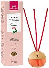 Parfums et Produits cosmétiques Diffuseur de parfum, Géranium - Cristalinas Mikado Reed Diffuser