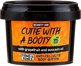 """Parfums et Produits cosmétiques Beurre corporel anti-cellulite """"Pamplemousse et huile d'avocat"""" - Beauty Jar Anti-Cellulite Body Butter"""