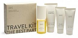 Parfums et Produits cosmétiques Sioris Travel Kit - Set (nettoyant/30ml + brume/30ml + crème de jour/15ml + crème de nuit/7ml)