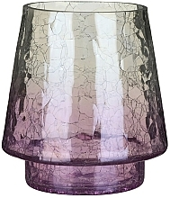 Parfums et Produits cosmétiques Bougeoir pour bougie votive - Yankee Candle Savoy Purple Crackle Jar Holder