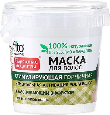 Masque à la moutarde pour cheveux - FitoKosmetik Recettes folkloriques