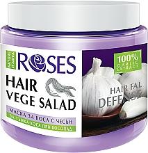 Parfums et Produits cosmétiques Masque à l'extrait d'ail pour cheveux - Nature of Agiva Roses Hairfall Defense Hair Mask
