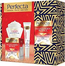 Parfums et Produits cosmétiques Kit soin visage 60+ - Perfecta Multi-Collagen Retinol 60+ (crème/50ml + crème contour des yeux/15ml)