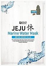 Parfums et Produits cosmétiques Masque tissu à l'eau marine pour visage - SNP Jeju Rest Marine Water Mask