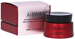 Parfums et Produits cosmétiques Crème de soin lissante, anti-rides - Ahava Apple Of Sodom Advanced Deep Wrinkle Cream
