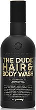 Parfums et Produits cosmétiques Shampooing et gel douche à l'huile d'amande douce - Waterclouds The Dude Hair And Body Wash
