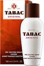 Parfums et Produits cosmétiques Maurer & Wirtz Tabac Original Pre Electric Shave - Lotion avant rasage électrique