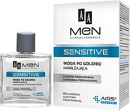 Parfums et Produits cosmétiques Lotion après-rasage sans alcool - AA Men Sensitive After Shave Moisturising Lotion