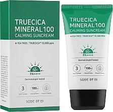 Parfums et Produits cosmétiques Crème solaire - Some By Mi Truecica Mineral 100 Calming Suncream spf 50 PA++++