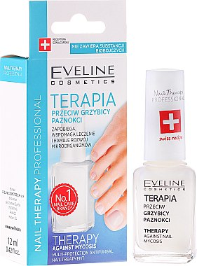 Vernis anti-mycose des ongles pour pieds et mains - Eveline Cosmetics Nail Polish for Nail Fungus Feet & Hands Mykose