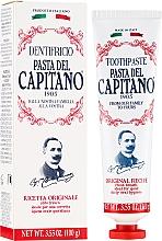 Parfums et Produits cosmétiques Dentifrice recette originale - Pasta Del Capitano Original Recipe Toothpaste