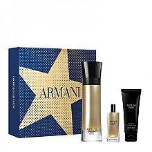 Parfums et Produits cosmétiques Giorgio Armani Code Absolu - Coffret (eau de parfum/110ml + eau de parfum/15ml + gel douche corps et cheveux/75ml)