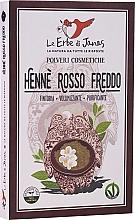 Parfums et Produits cosmétiques Henné naturel en poudre, rouge - Le Erbe di Janas Red Henna Cold Shades