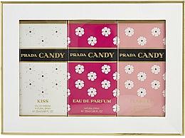 Parfums et Produits cosmétiques Prada Candy Gift Set - Coffret (eau de parfum/20ml + eau de parfum/20ml + eau de toilette/20ml)