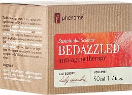 Parfums et Produits cosmétiques Thérapie de nuit aux extraits d'acérola, pomme et ginkgo biloba - Phenome Sustainable Science Bedazzled Anti-Aging Therapy