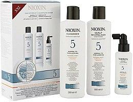 Parfums et Produits cosmétiques Set - Nioxin System 5 (shampooing/300ml + après-shampooing/300ml + traitement pour cuir chevelu/100ml)