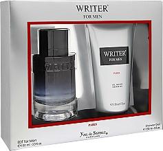 Parfums et Produits cosmétiques Yves de Sistelle Writer for Men - Set (eau de toilette/100ml + gel douche/150ml)