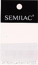 Parfums et Produits cosmétiques Décorations pour ongles Carrés d'argent - Semilac Nailart 763