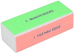 Parfums et Produits cosmétiques Bloc polissoir à ongles, large, 4 côtés - Tools For Beauty 4-way Nail Buffer Block