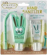 Parfums et Produits cosmétiques Jack N' Jill Hand Sanitizer Bunny - Set (gel désinfectant pour mains/2x29 ml + étui)