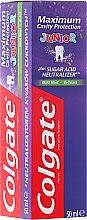 Parfums et Produits cosmétiques Dentifrice pour enfants de 6+ - Colgate Maximum Cavity Protection Junior 6+
