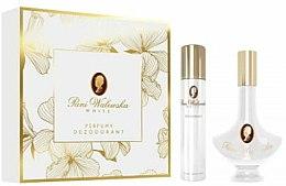 Parfums et Produits cosmétiques Pani Walewska White - Set (parfum/30ml + déodorant/90ml)