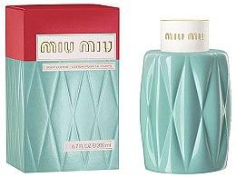 Parfums et Produits cosmétiques Miu Miu Miu Miu - Lotion pour corps