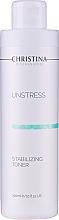 Parfums et Produits cosmétiques Tonique à l'extrait de concombre et acide glycolique pour visage - Christina Unstress Stabilizing Toner
