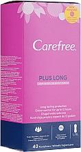 Parfums et Produits cosmétiques Protège-slips hygiéniques, 40 pcs - Carefree Plus Long