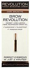 Parfums et Produits cosmétiques Gel sourcils waterproof - Makeup Revolution Brow Gel