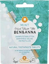 Parfums et Produits cosmétiques Dentifrice en comprimés Menthe  - Ben&Anna Mint Toothpaste Tablets With Fluoride