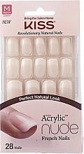 Parfums et Produits cosmétiques Set faux ongles avec colle - Kiss Salon Acrylic Nude Nails Cashmere