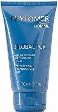 Parfums et Produits cosmétiques Gel à l'extrait d'hamamélis pour visage - Phytomer Homme Global Pur Detoxifying Cleansing Gel