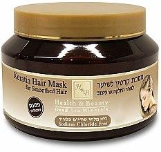 Parfums et Produits cosmétiques Masque à la kératine pour cheveux après traitement thermique - Health And Beauty Keratin Hair Mask