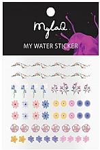 Parfums et Produits cosmétiques Autocollants pour ongles, Fleurs - MylaQ My My Flower Sticker