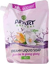 Parfums et Produits cosmétiques Savon liquide crémeux au jasmin et ylang-ylang - Apart Natural Jasmine & Ylang Ylang Soap (recharge)