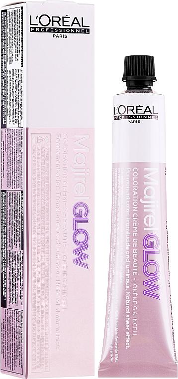 Crème colorante permanente pour cheveux - L'Oreal Professionnel Majirel Glow