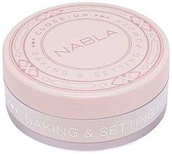 Parfums et Produits cosmétiques Poudre libre fixante transparente - Nabla Close-Up Baking Setting Powder