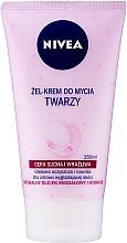 Parfums et Produits cosmétiques Gel-crème nettoyant à l'huile d'amande naturelle pour visage - Nivea Visage Cleansing Soft Cream Gel
