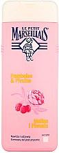 Parfums et Produits cosmétiques Douche crème à la framboise et pivoine - Le Petit Marseillais