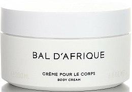 Parfums et Produits cosmétiques Byredo Bal D`Afrique - Crème parfumée pour le corps