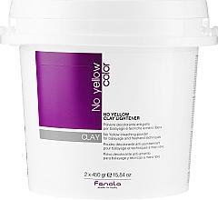Parfums et Produits cosmétiques Poudre décolorante anti-jaunissements pour cheveux - Fanola No Yellow Clay Lightner