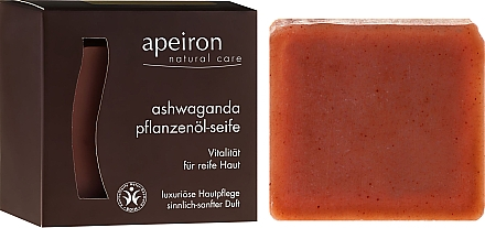 Savon naturel au ginseng indien - Apeiron Ashwaganda Plant Oil Soap — Photo N1