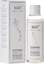Parfums et Produits cosmétiques Huile de massage apaisante à l'extrait de graines de coton pour le bébé - Naif Baby Soothing Baby Massage Oil